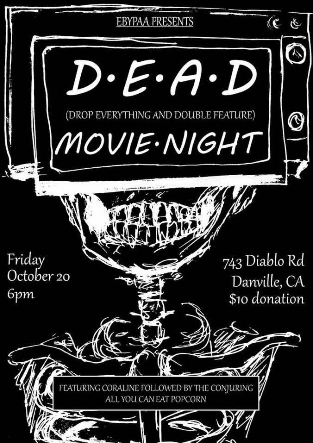 D.E.A.D. Movie Night