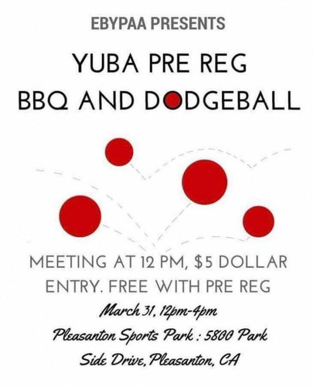 Pre-Reg BBQ & Dodgeball
